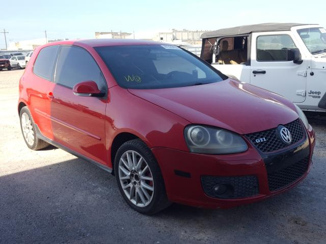 Salvage cars for sale from Copart Mercedes, TX: 2006 Volkswagen New GTI
