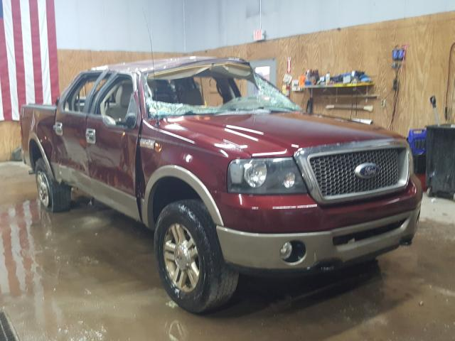 Salvage cars for sale from Copart Kincheloe, MI: 2006 Ford F150 Super