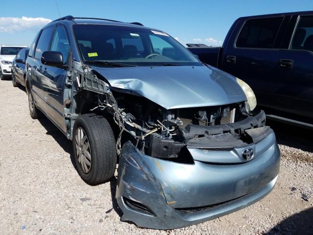 Toyota Sienna CE salvage cars for sale: 2006 Toyota Sienna CE