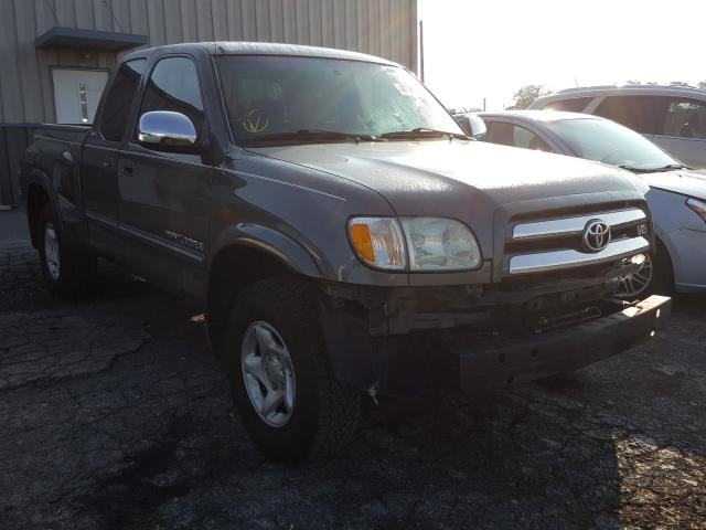 Salvage cars for sale from Copart Chambersburg, PA: 2004 Toyota Tundra ACC