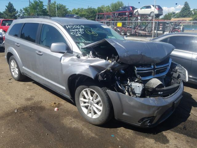 Dodge Journey salvage cars for sale: 2017 Dodge Journey