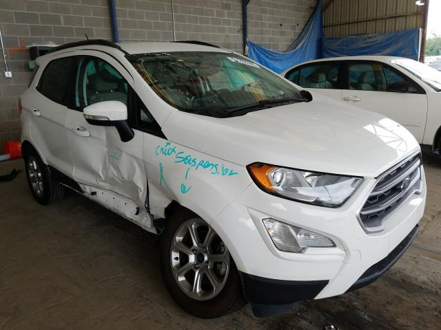 Ford Ecosport S salvage cars for sale: 2018 Ford Ecosport S