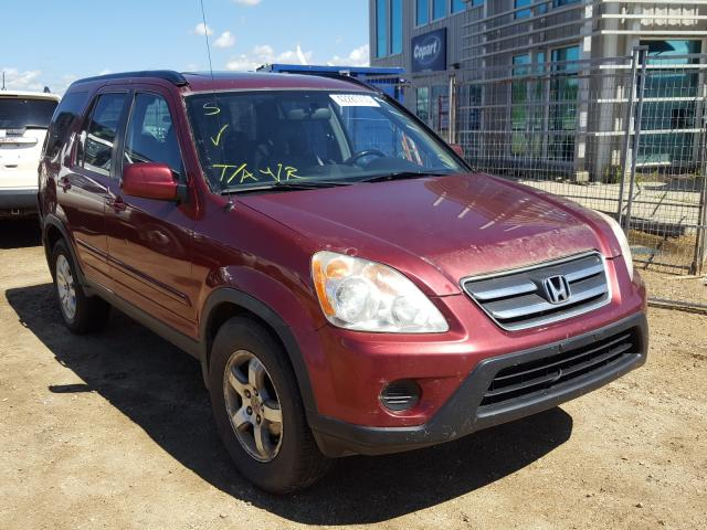 Honda CR-V SE salvage cars for sale: 2006 Honda CR-V SE