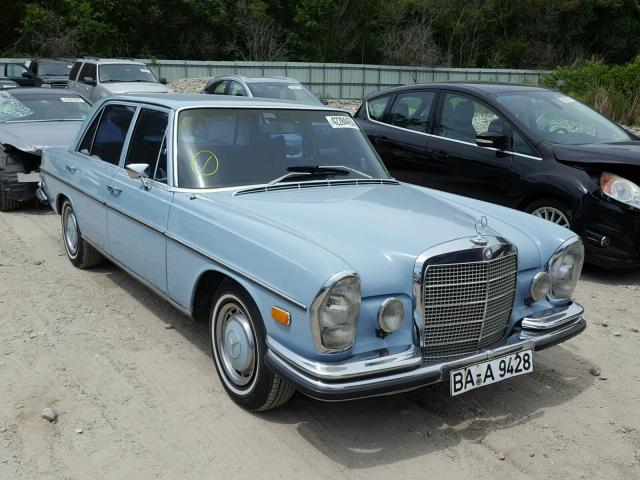 Vehiculos salvage en venta de Copart Riverview, FL: 1970 Mercedes-Benz 280SEL