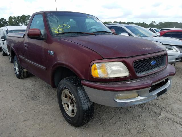 Salvage cars for sale from Copart Houston, TX: 1997 Ford F150