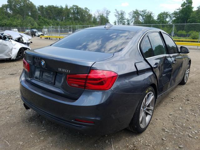 цена в сша 2017 BMW 330 XI WBA8D9G35HNU63260