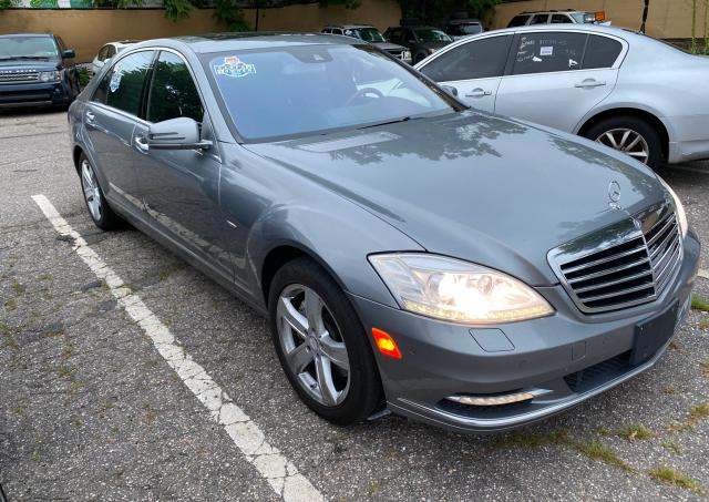 Mercedes-Benz salvage cars for sale: 2012 Mercedes-Benz S 550 4matic