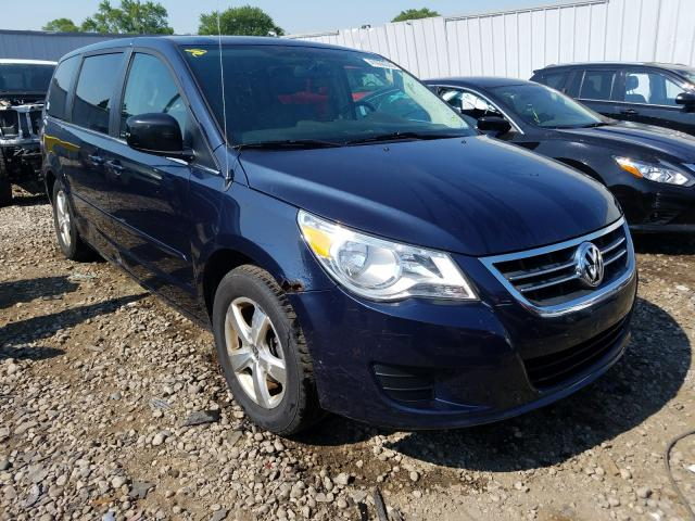 Salvage cars for sale from Copart Cudahy, WI: 2009 Volkswagen Routan SEL