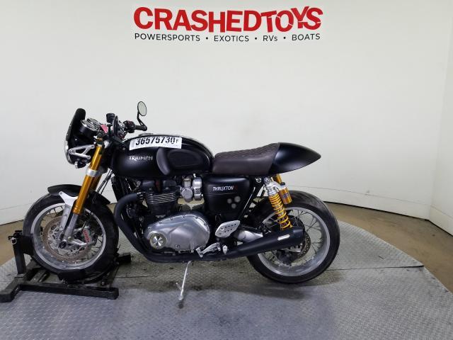 пригнать из сша 2016 TRIUMPH MOTORCYCLE THRUXTON 1200 R SMTD21HF7GT780941
