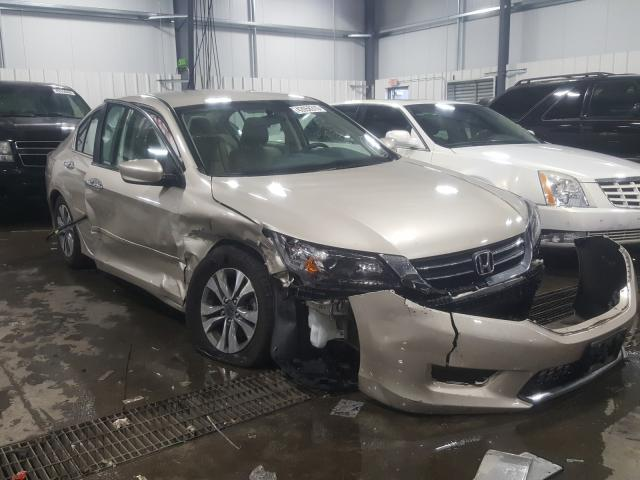 Salvage cars for sale from Copart Ham Lake, MN: 2014 Honda Accord LX