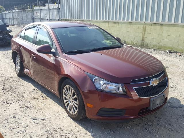 Chevrolet Cruze ECO salvage cars for sale: 2013 Chevrolet Cruze ECO