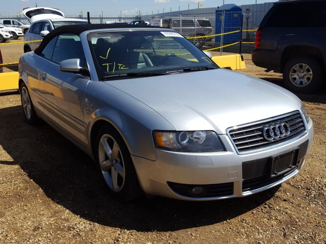 Audi salvage cars for sale: 2006 Audi A4 1.8 Cabriolet