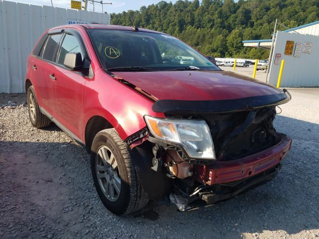Ford Edge SE salvage cars for sale: 2009 Ford Edge SE