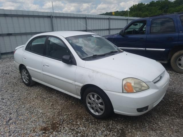 KIA salvage cars for sale: 2003 KIA Rio