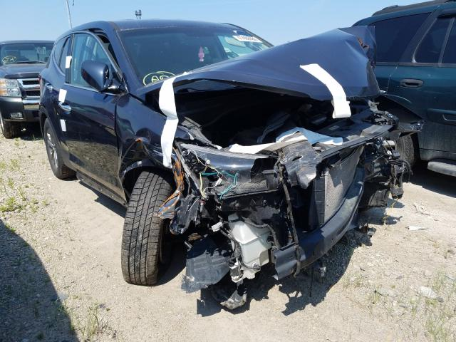Salvage cars for sale from Copart Columbus, OH: 2015 Hyundai Santa FE S