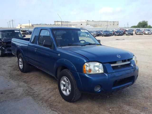 Salvage cars for sale from Copart Mercedes, TX: 2002 Nissan Frontier K