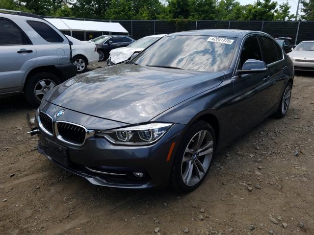 из сша 2017 BMW 330 XI WBA8D9G35HNU63260