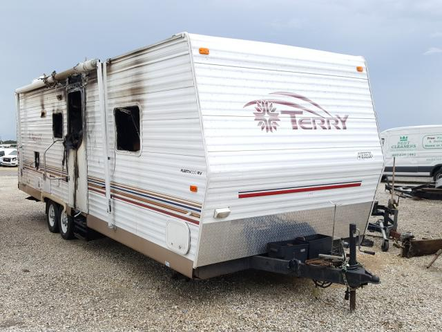 Terry salvage cars for sale: 2003 Terry Trailer