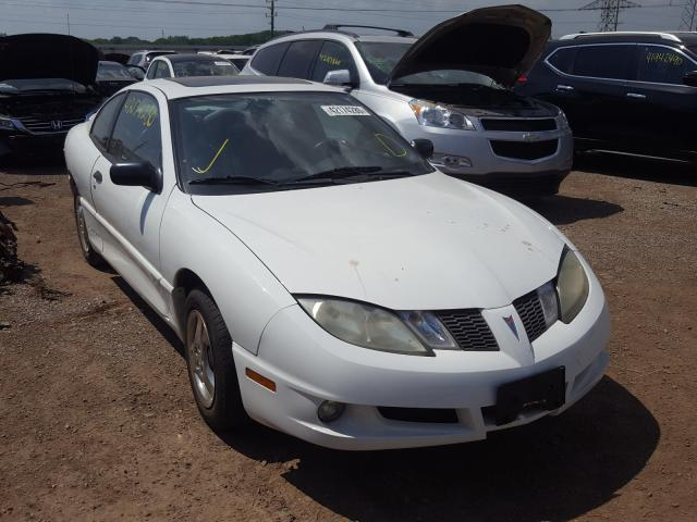 Pontiac Sunfire salvage cars for sale: 2005 Pontiac Sunfire