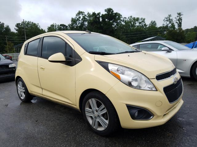 Chevrolet salvage cars for sale: 2014 Chevrolet Spark 1LT