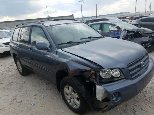 Salvage cars for sale from Copart Columbus, OH: 2003 Toyota Highlander