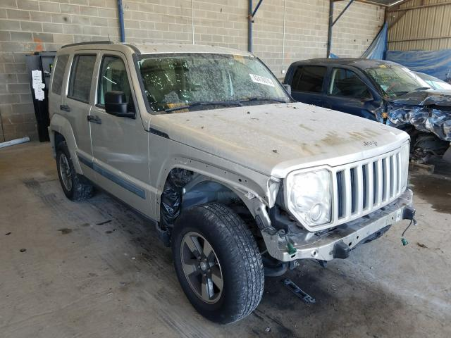 Salvage cars for sale from Copart Cartersville, GA: 2008 Jeep Liberty SP