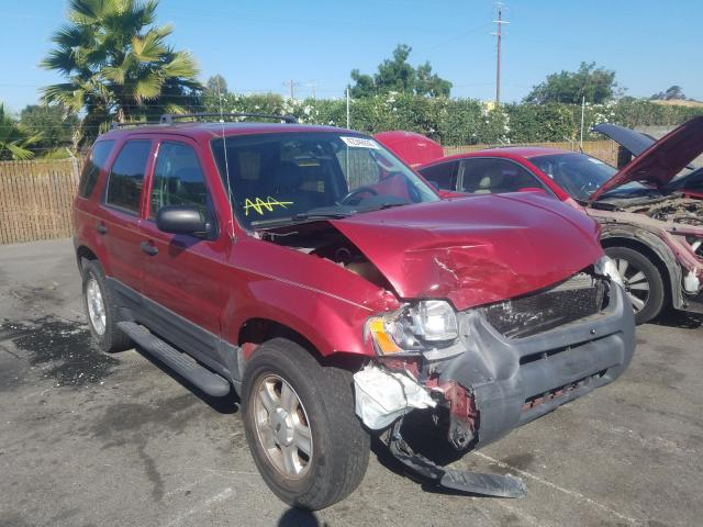 Ford Escape XLT salvage cars for sale: 2004 Ford Escape XLT