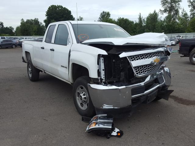 Salvage cars for sale from Copart Portland, OR: 2019 Chevrolet Silverado