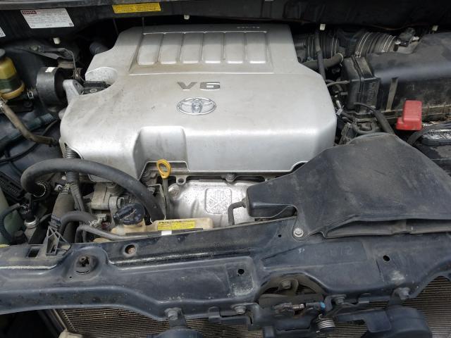 5TDYK4CC7AS325172 2010 Toyota Sienna Xle 3.5L