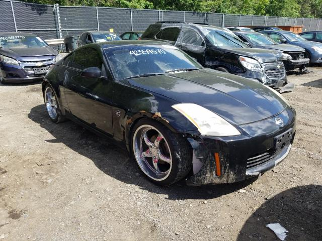 Nissan 350Z Coupe salvage cars for sale: 2004 Nissan 350Z Coupe