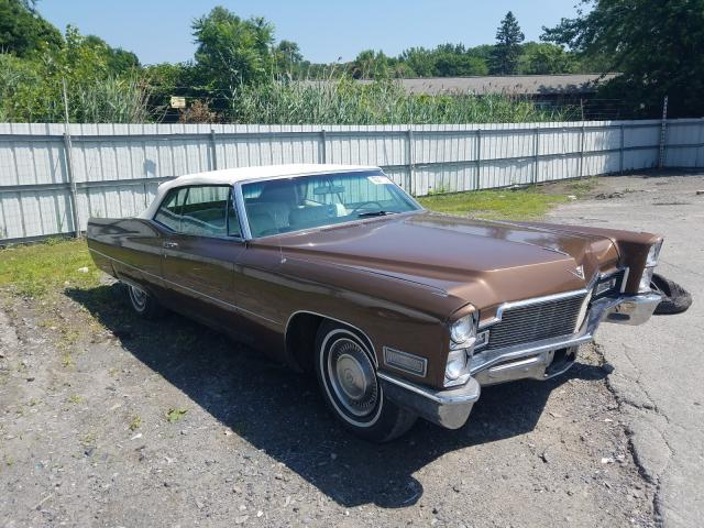 Cadillac salvage cars for sale: 1968 Cadillac Deville