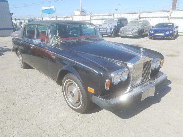 Rolls-Royce salvage cars for sale: 1977 Rolls-Royce Silver WRA
