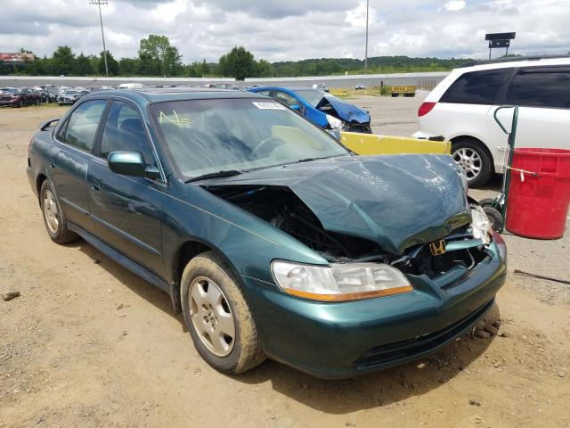 Salvage cars for sale from Copart Concord, NC: 2002 Honda Accord EX