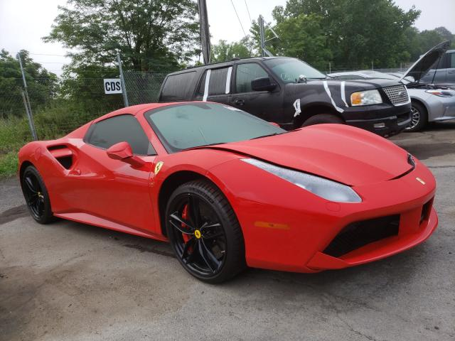 Ferrari salvage cars for sale: 2018 Ferrari 488 Spider