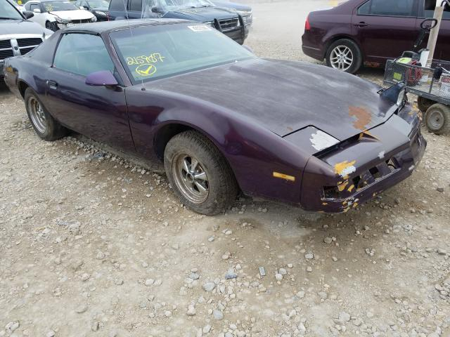 Pontiac Firebird salvage cars for sale: 1987 Pontiac Firebird