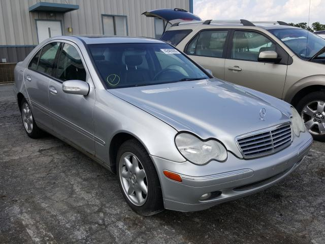 Salvage cars for sale from Copart Chambersburg, PA: 2003 Mercedes-Benz C 240 4matic