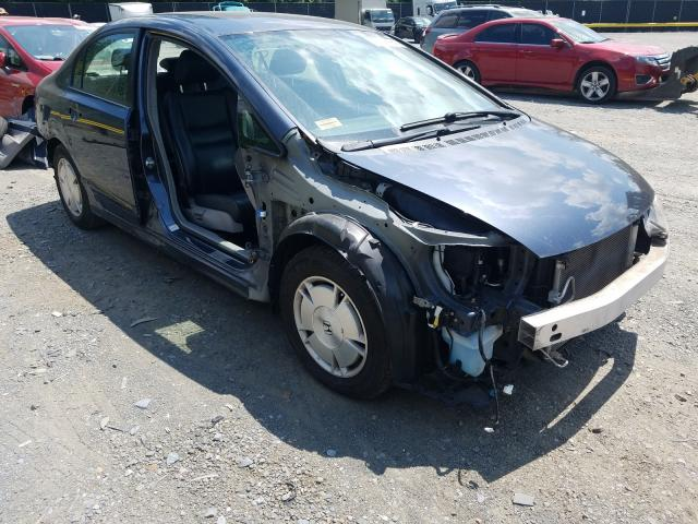 Salvage cars for sale from Copart Waldorf, MD: 2009 Honda Civic Hybrid