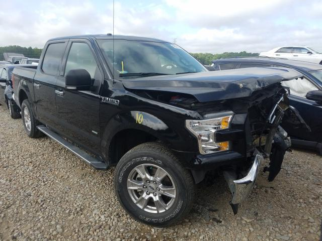 Salvage cars for sale from Copart Memphis, TN: 2017 Ford F150 Super