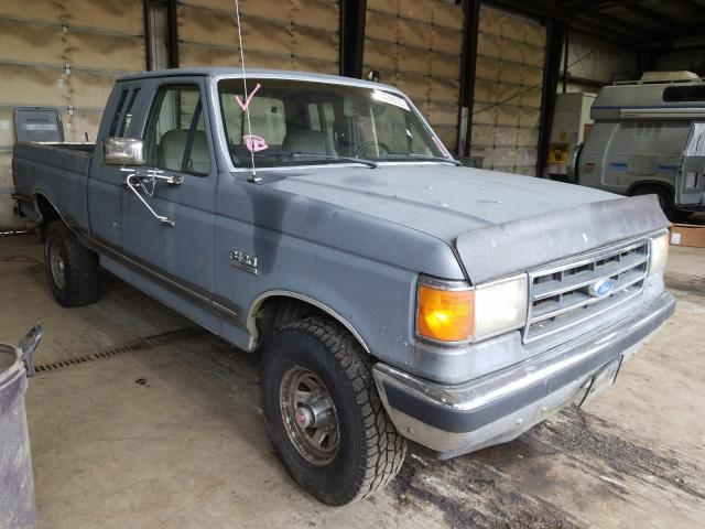 Salvage cars for sale from Copart Graham, WA: 1990 Ford F150