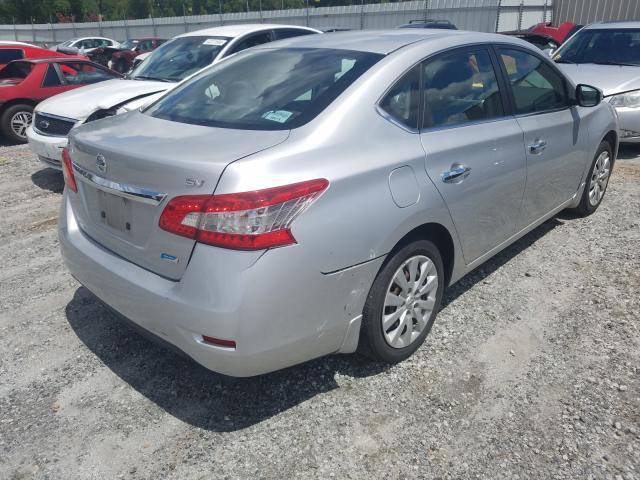цена в сша 2014 Nissan Sentra S 1.8L 3N1AB7AP7EY234509