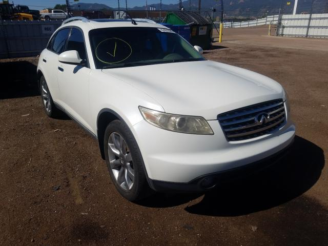Infiniti FX45 salvage cars for sale: 2004 Infiniti FX45