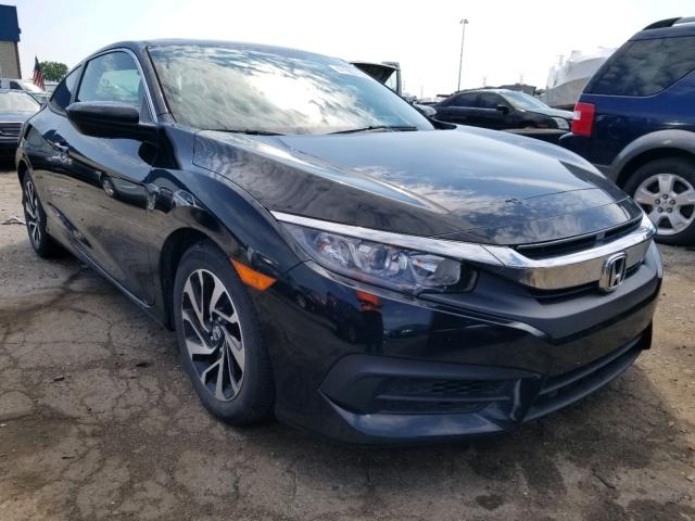 Salvage cars for sale from Copart Woodhaven, MI: 2016 Honda Civic LX