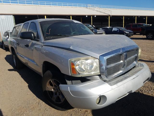 Dodge Dakota Quattro salvage cars for sale: 2007 Dodge Dakota Quattro