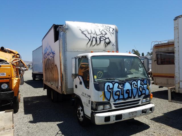 Salvage trucks for sale at Vallejo, CA auction: 2004 Isuzu NPR