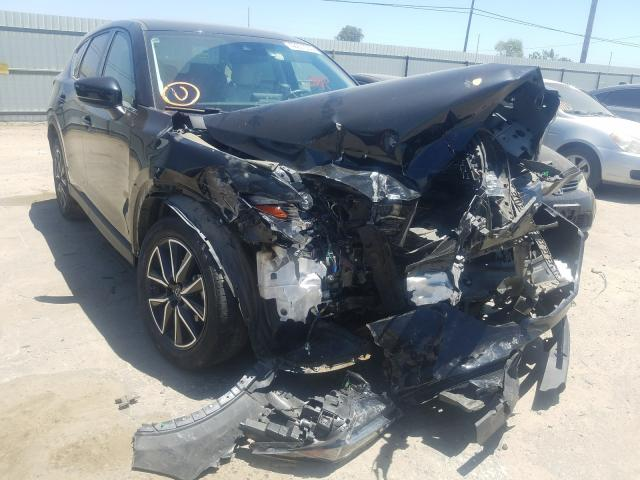 Mazda CX-5 Grand Touring salvage cars for sale: 2017 Mazda CX-5 Grand Touring