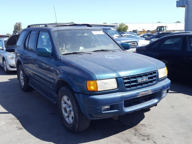 Isuzu salvage cars for sale: 1999 Isuzu Rodeo S