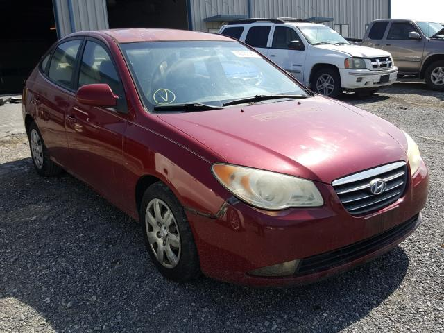 Salvage cars for sale from Copart Chambersburg, PA: 2007 Hyundai Elantra GL