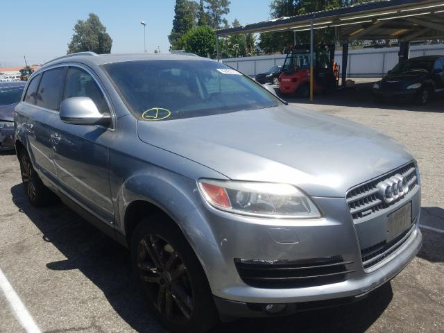 Audi Q7 3.6 Quattro salvage cars for sale: 2007 Audi Q7 3.6 Quattro