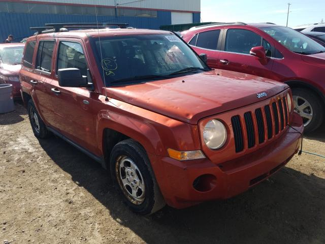 Jeep salvage cars for sale: 2009 Jeep Patriot SP