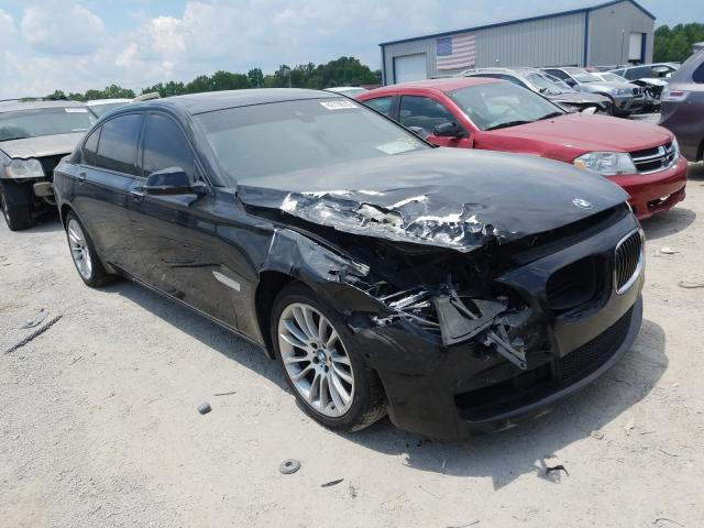 BMW 750 LXI salvage cars for sale: 2014 BMW 750 LXI